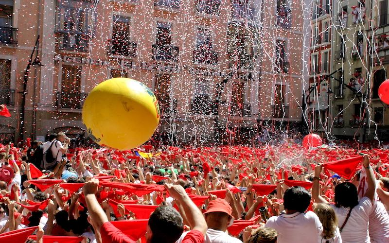 Let's go to San Fermin in Pamplona!