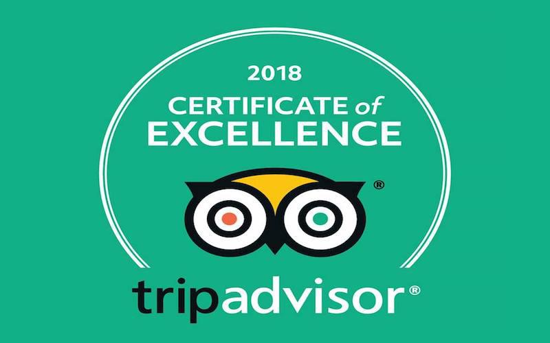 Spain is More has received the Certificate of Excellence from Tripadvisor
