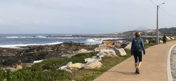 Portuguese Camino by the Coast